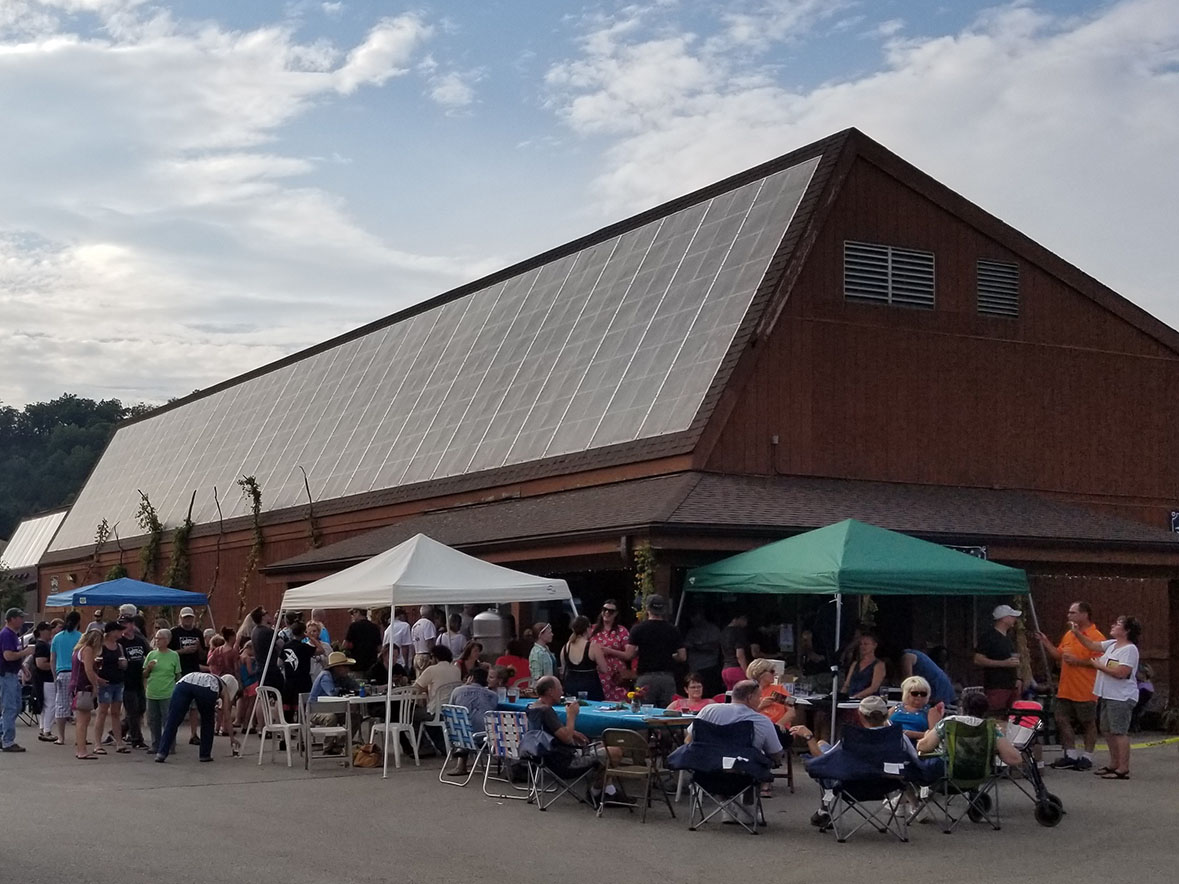 Driftless Brewing Company hosts numerous events throughout the year.