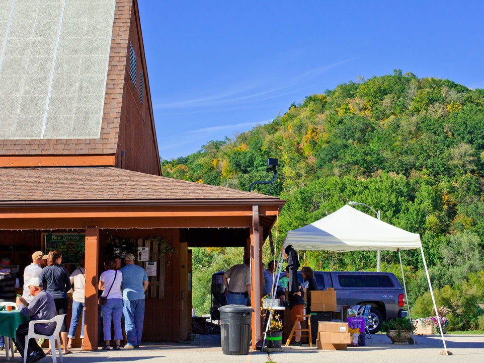 A beautiful day for craft beer, fresh from the brewery.