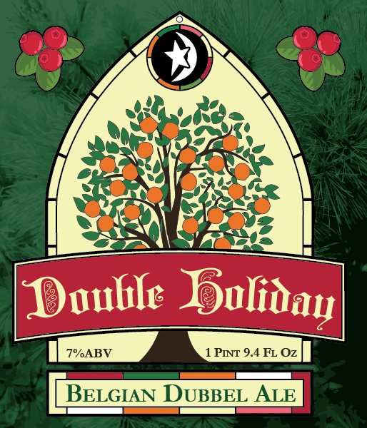 DBC Double Holiday Belgian Dubbel Ale
